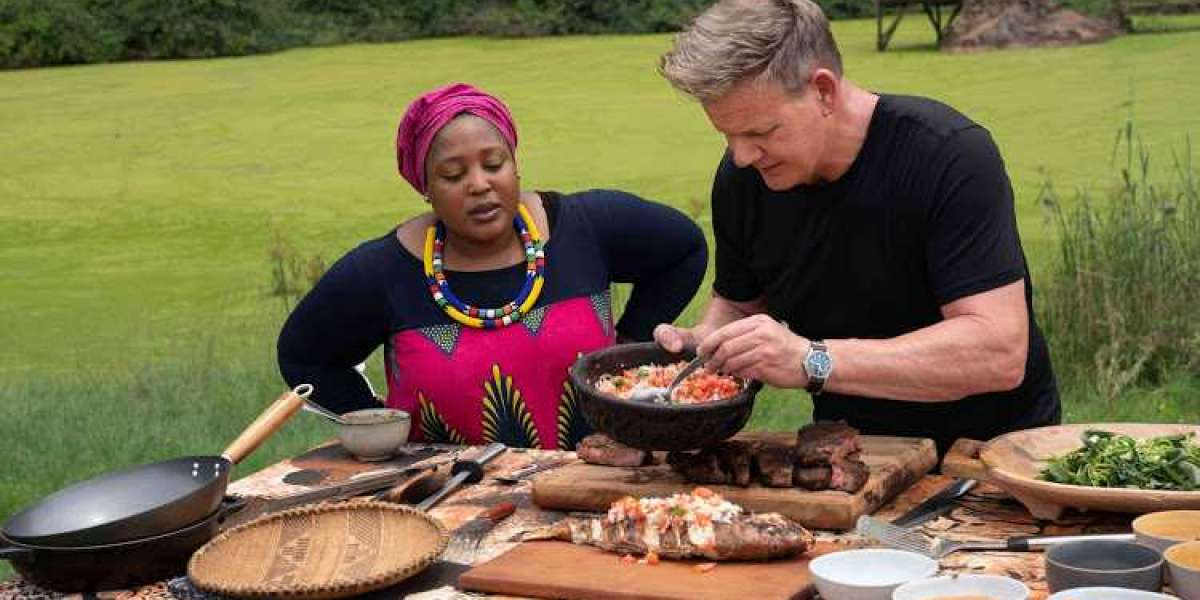 South African chef Zola Nene to tutor Gordon Ramsay on traditional cuisine