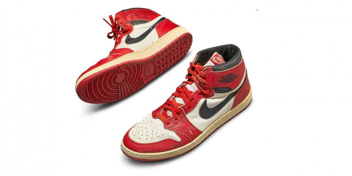 Michael Jordan's first Air Jordan sneakers sold for R10 Million at Sotheby's