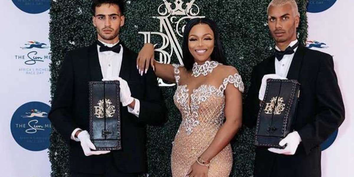 Bonang Matheba's new advert for her BNG screams glamour and luxury