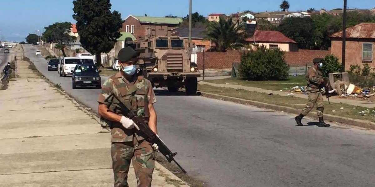 SANDF Soldiers accused of beating Alexandra man to death