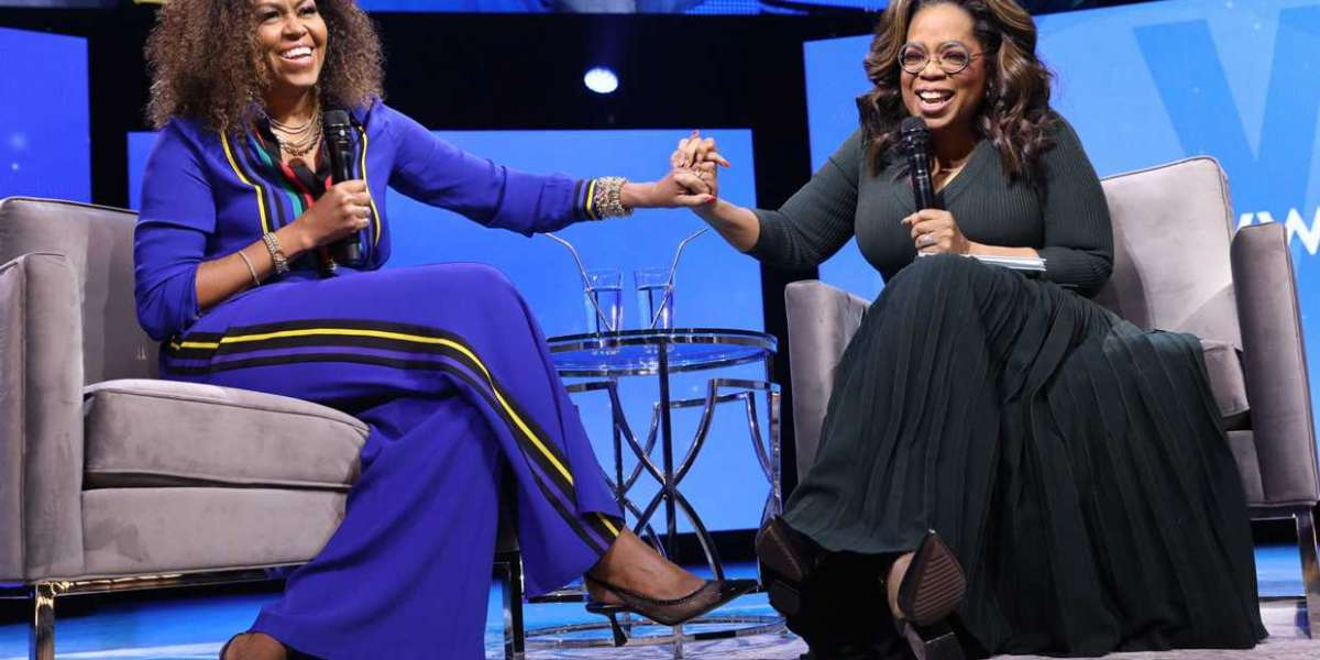 Michelle Obama In a sit down with Oprah Winfrey talks about her marriage and what makes Barack Obama emotional
