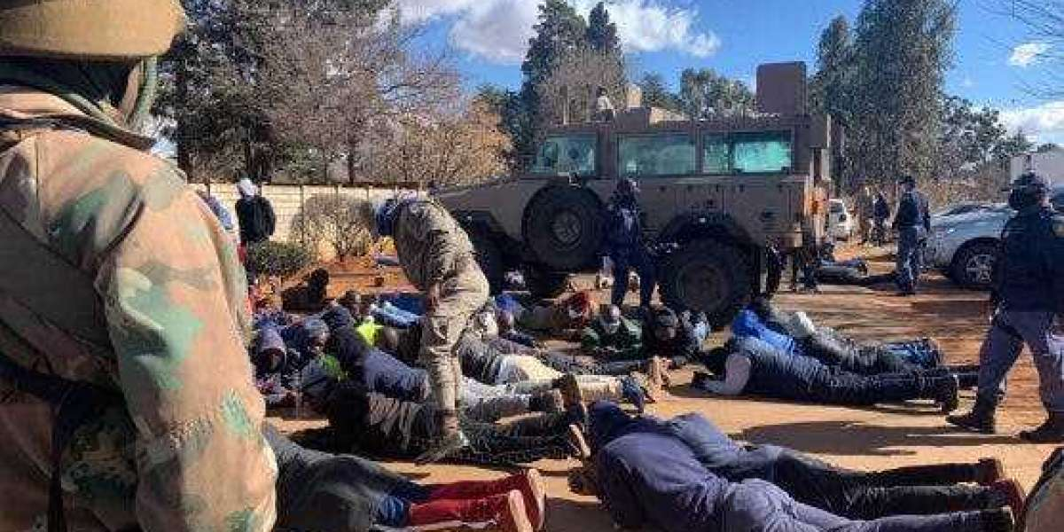 IPHC Church members held hostage by Police, Soldiers and Correctional Officials