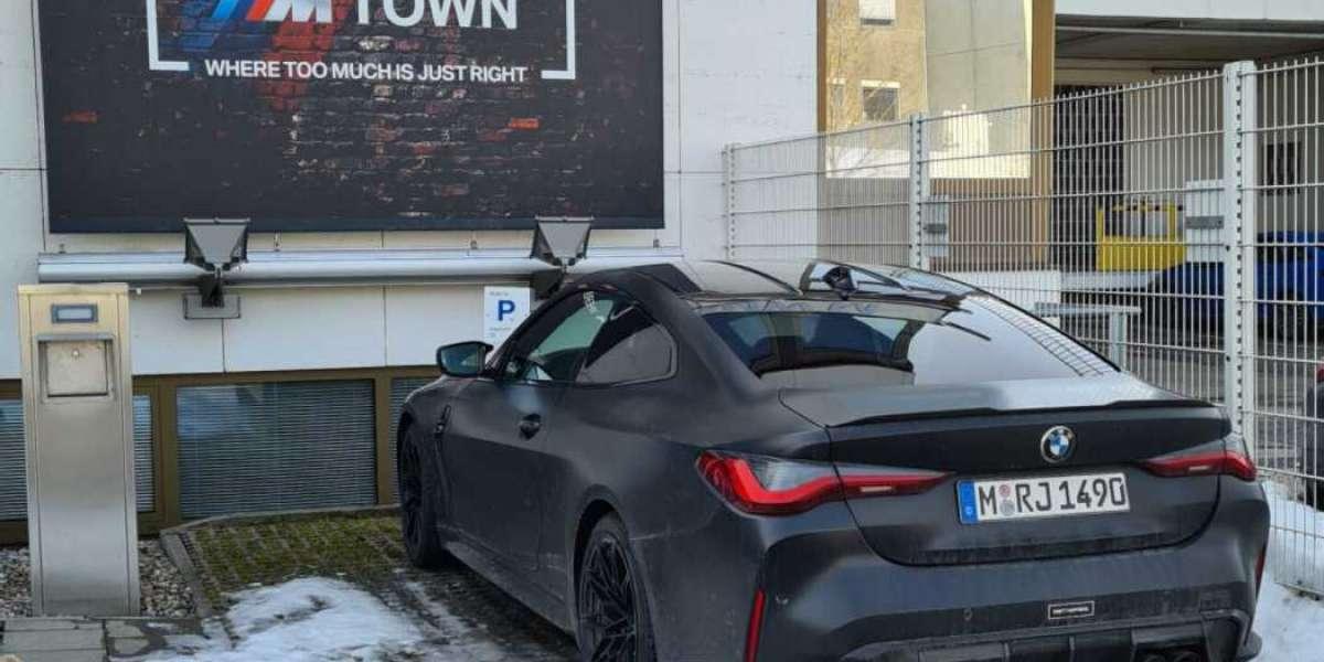 BMW M CEO  drives a special Frozen Black BMW M4 G82