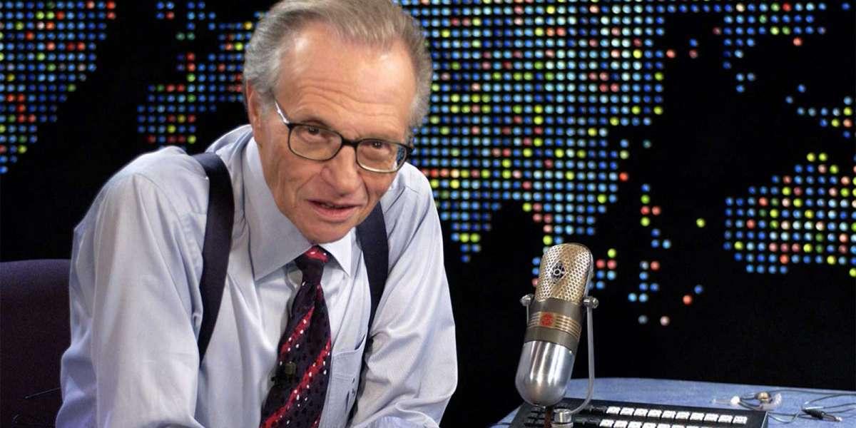 Talk show host Larry King dies at 87