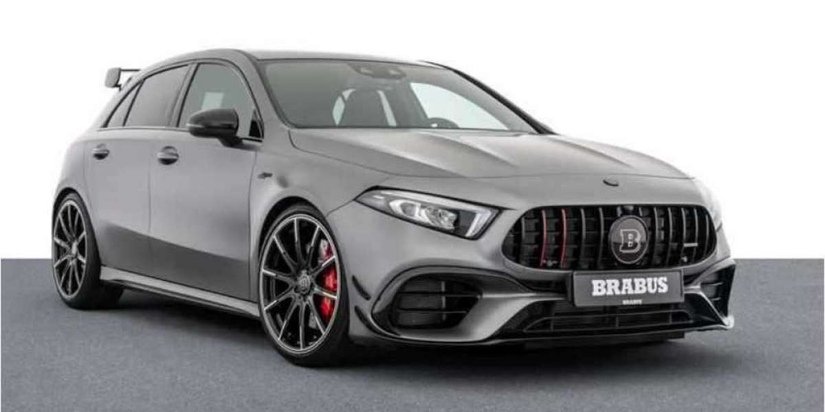 Brabus releases the world's fastest Mercedes-AMG 45 S hatch