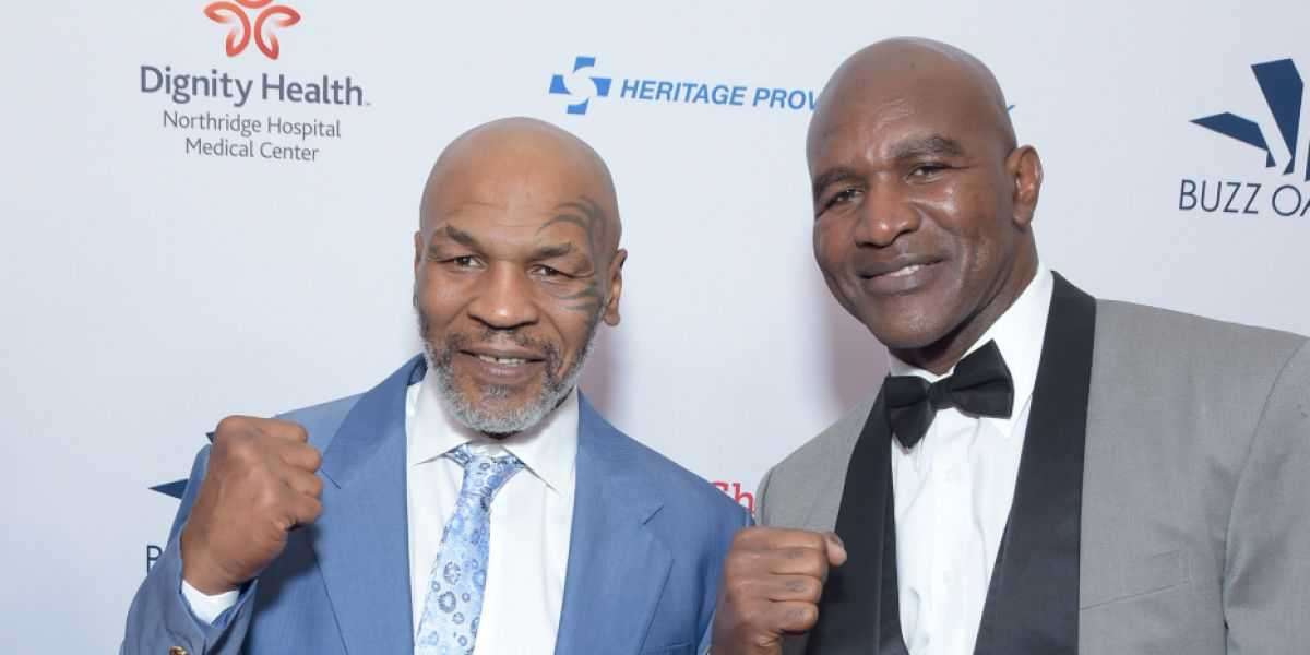 Mike Tyson Says Evander Holyfield Fight Is Happening