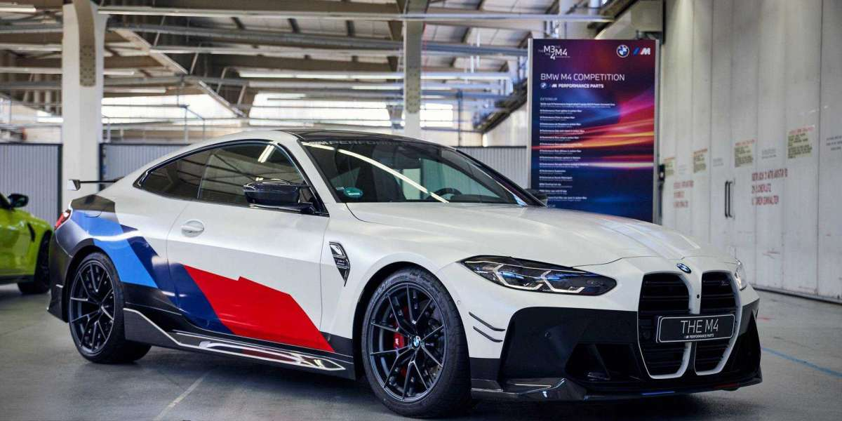 G82 BMW M4 gets Motorsport livery and M Performance Parts