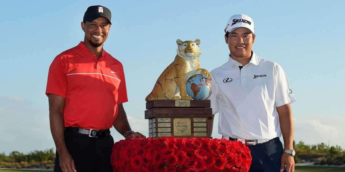 Tiger Woods Congratulates Hideki Matsuyama On Historic Masters Win