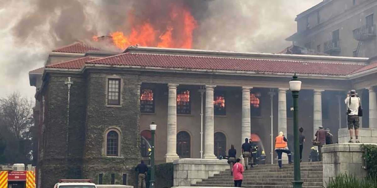 WATCH: Fire breaks out in Cape Town's Table Mountain National Park
