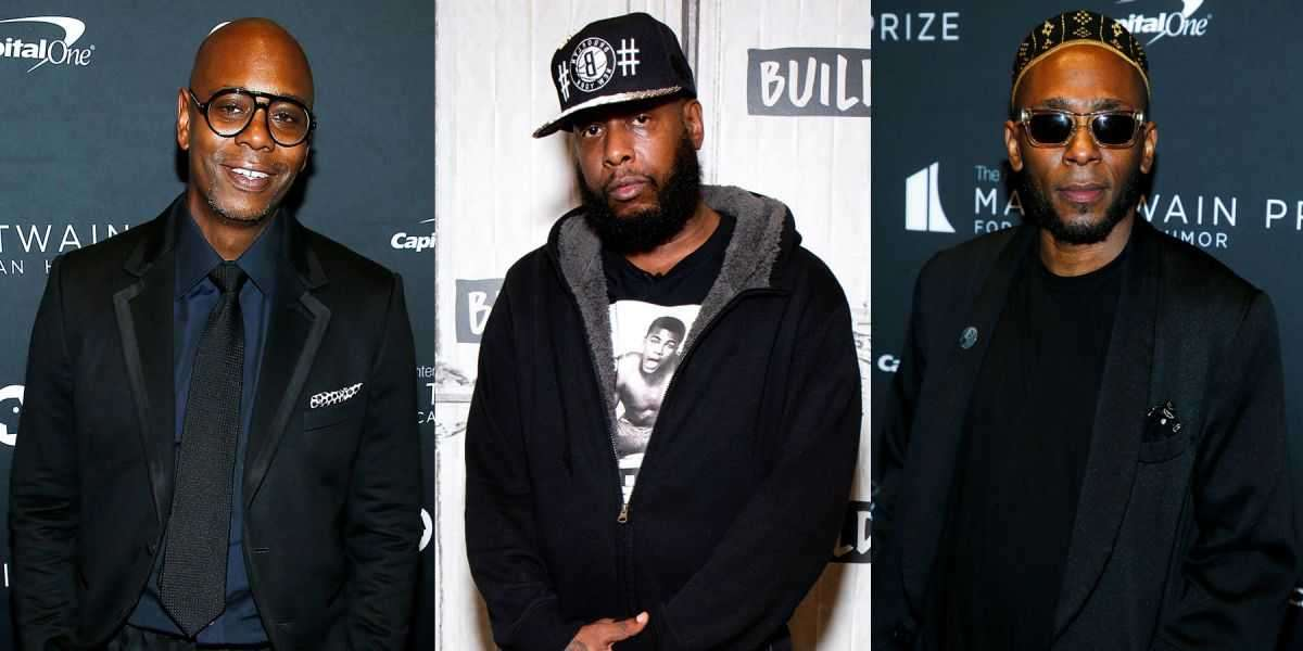 Dave Chappelle, Talib Kweli, and Yasiin Bey To Host New Podcast