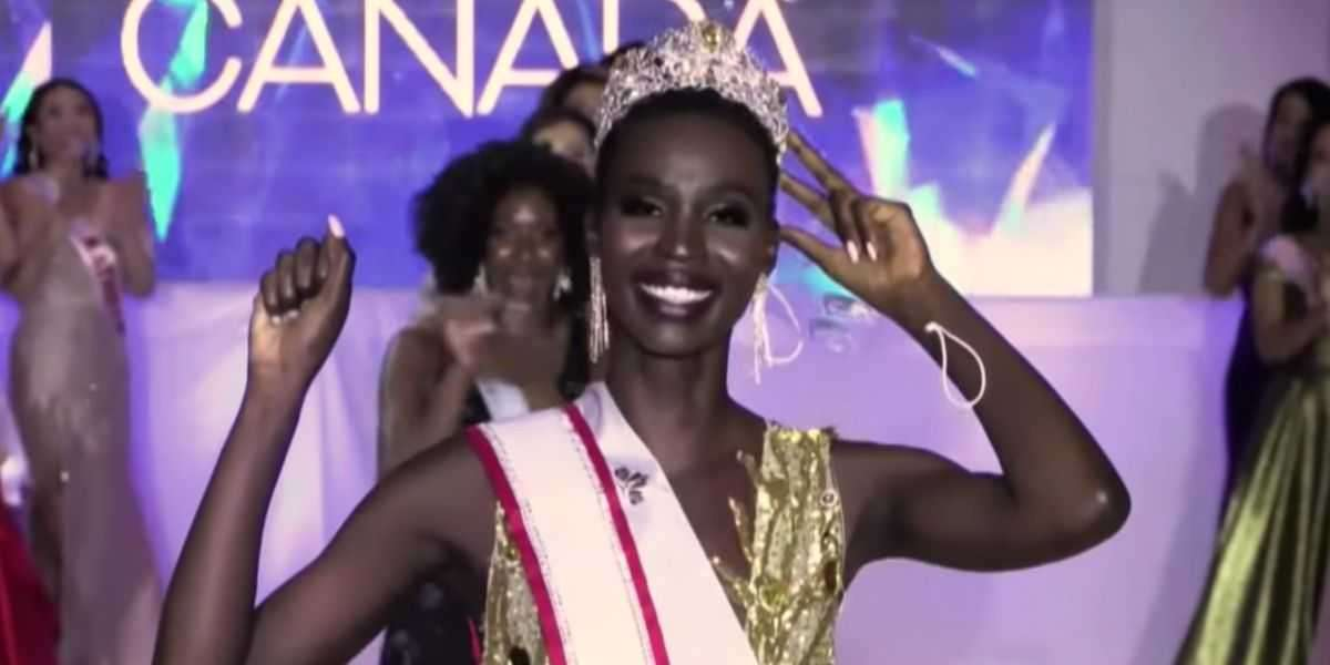 First Black Woman To Hold The Title Miss Universe Canada, Calls Out Online Racist Remarks