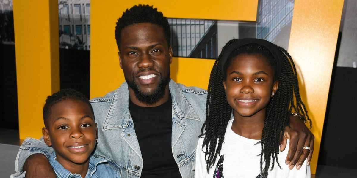 Kevin Hart Shares Why He Talks To His Kids About His Scandals
