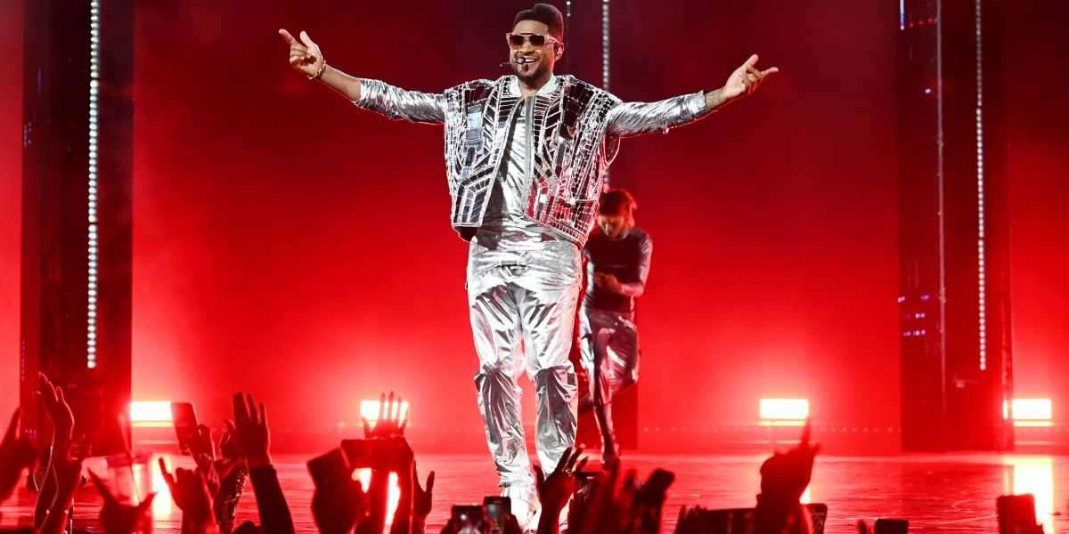 Usher Starts His Las Vegas Residency With A Sold- Out Show
