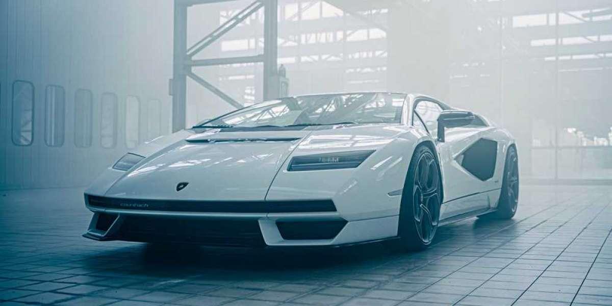 Lamborghini unveils hybrid Countach supercar