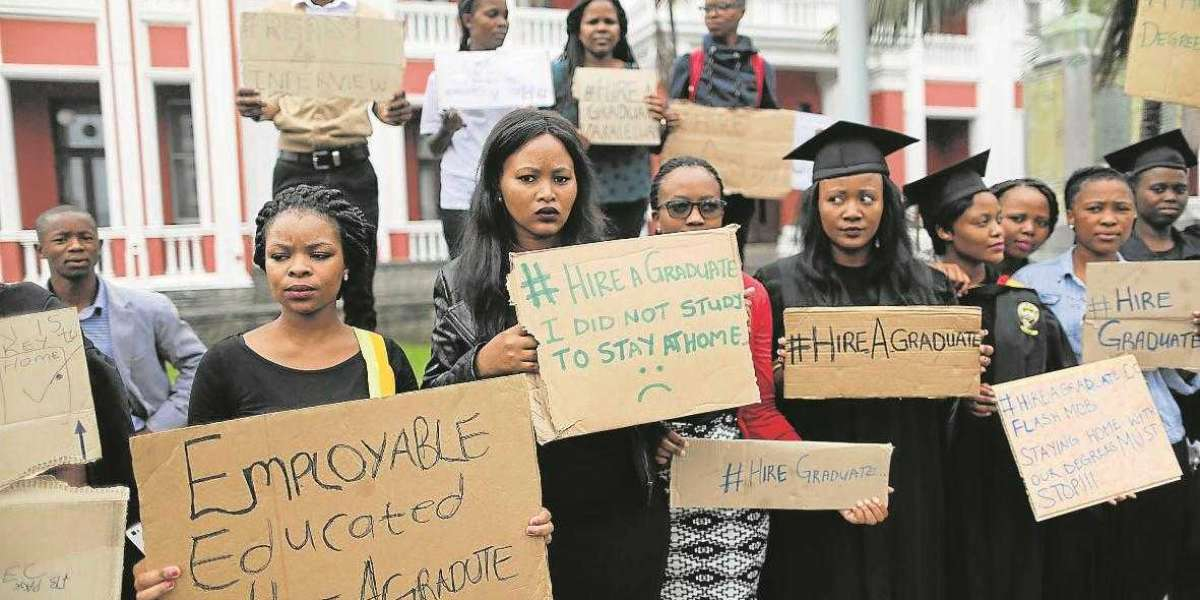 South African youth on their own and must create their own opportunities