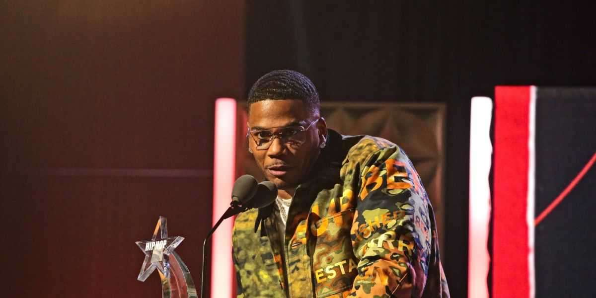 Nelly wins at BET's 2021 'I Am Hip Hop' Award