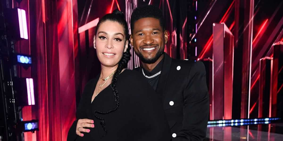 Usher and Jenn Goicoechea Welcome Son Sire Castrello